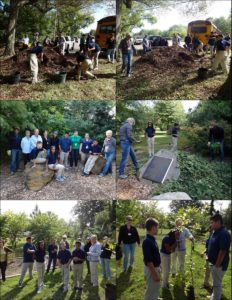 September 23, 2014 CEC Volunteer Day with JAAA students & teachers & Master Gardeners