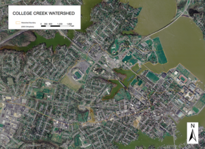 College Creek Watershed Map 2